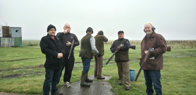 Clay Pigeon Shooting Trip, Three SIsters Pub Rainham Kent