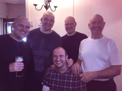 Head Shave for Cancer at Three Sisters Pub, Rainham